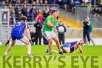 Conor O'Shea South Kerry in Action against Tadhg Morley Kenmare in the County Senior Football Semi Final at Fitzgerald Stadium Killarney on Sunday.