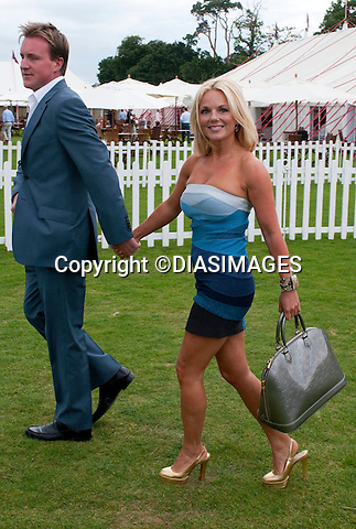 """GERI HALLIWELL AND HENRY BECKWITH.Cartier International Polo, Guards Polo Club, Smith's Lawn, Windsor_25/01/2010.Mandatory Credit Photo: ©DIASIMAGES..**ALL FEES PAYABLE TO: """"NEWSPIX INTERNATIONAL""""**..IMMEDIATE CONFIRMATION OF USAGE REQUIRED:.Newspix International, 31 Chinnery Hill, Bishop's Stortford, ENGLAND CM23 3PS.Tel:+441279 324672; Fax: +441279656877.e-mail: info@newspixinternational.co.uk"""