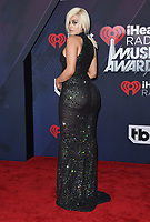 11 March 2018 - Inglewood, California - Bebe Rexha. 2018 iHeart Radio Awards held at The Forum. <br /> CAP/ADM/BT<br /> &copy;BT/ADM/Capital Pictures