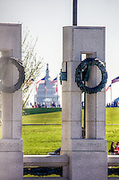 World War II Memorial US Capitol Washington DC Architecture