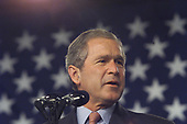 United States President George W. Bush visited Philadelphia, Pennsylvania on Monday May 14, 2001 for a noontime speech at which he and Attorney General John Ashcroft promoted their safe neighborhood program that will create local partnerships to enforce existing gun laws.<br /> Credit: Consolidated News Photos