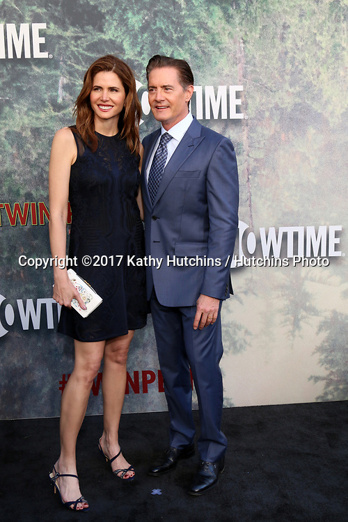 "LOS ANGELES - MAY 19:  Desiree Gruber, Kyle MacLachlan at the ""Twin Peaks"" Premiere Screening at The Theater at Ace Hotel on May 19, 2017 in Los Angeles, CA"