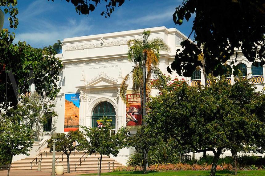 San Diego Natural History Museum, Balboa Park, San Diego, California