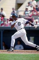 Detroit Tigers Milt Cuyler (22) during Spring Training 1993 at Joker Marchant Stadium in Lakeland, Florida.  (MJA/Four Seam Images)
