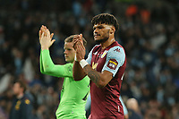 Tyrone Mings of Aston Villa applauds the Villa fans at the end of the game. Aston Villa vs Manchester City, Caraboa Cup Final Football at Wembley Stadium on 1st March 2020
