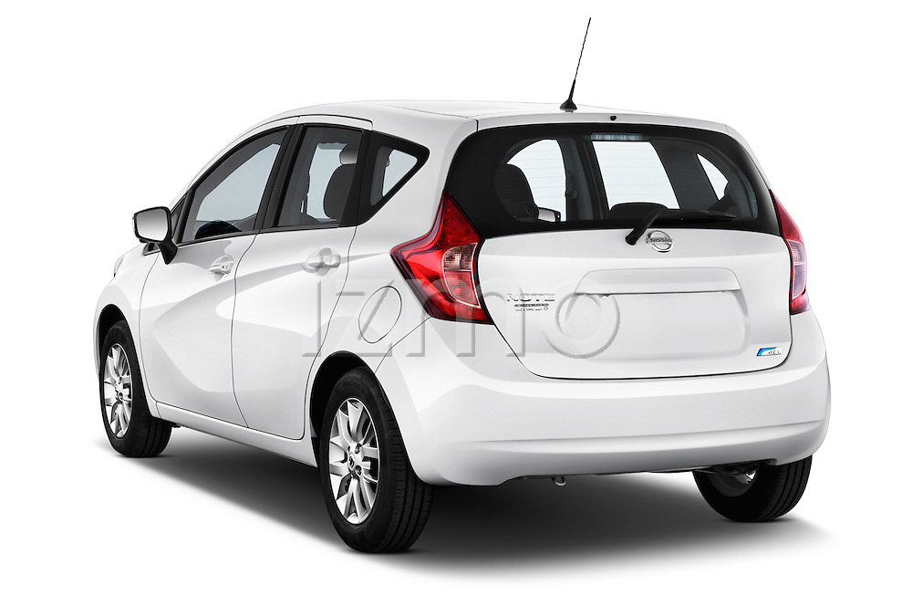 Rear three quarter view of a 2013 Nissan NOTE 5 Door Hatchback 2WD