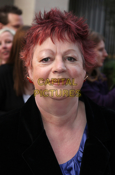 JO BRAND .at the Galaxy British Book Awards, Grosvenor House Hotel, Park Lane, London, England, UK, April 3rd 2009..portrait headshot  black purple red dyed hair.CAP/ROS.©Steve Ross/Capital Pictures
