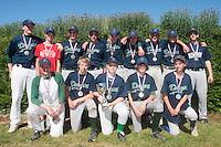 04 July 2010: Dragons Ronchin, little league, championnat Minimes Cadets, Ronchin, France.