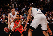 25th March 2018, Madrid, Spain; Endesa Basketball League, Real Madrid versus Valencia; Eric Green (Valencia Basket) in passing action during the match