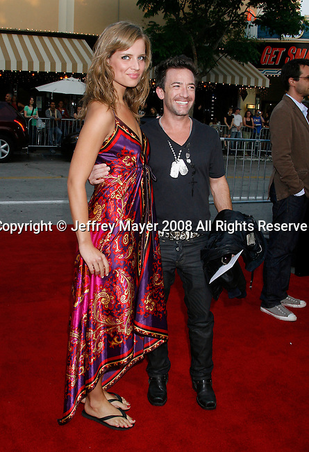 "Actor David Faustino arrives at the Premiere of Columbia Pictures' ""Step Brothers"" at the Mann Village Theater on July 15, 2008 in Los Angeles, California."