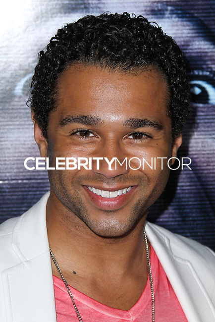 """LOS ANGELES, CA, USA - APRIL 16: Corbin Bleu at the Los Angeles Premiere Of Open Road Films' """"A Haunted House 2"""" held at Regal Cinemas L.A. Live on April 16, 2014 in Los Angeles, California, United States. (Photo by Xavier Collin/Celebrity Monitor)"""