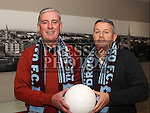 Drogheda Uniteds new management team, Pete Mahon and John Gill.<br /> <br /> Photo: Jenny Matthews