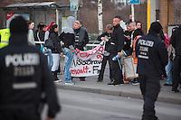16-03-19 Hooligan-Demo gegen Gewalt in Hellersdorf