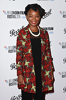 Rungano Nyoni<br /> arriving for the London Film Festival Awards, Vue Leicester Square, London<br /> <br /> ©Ash Knotek  D3452  20/10/2018