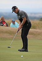 Tyrrell Hatton (ENG) during the Final Round of the ASI Scottish Open 2018, at Gullane, East Lothian, Scotland.  15/07/2018. Picture: David Lloyd | Golffile.<br /> <br /> Images must display mandatory copyright credit - (Copyright: David Lloyd | Golffile).