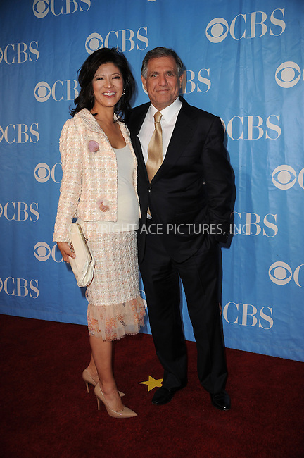 WWW.ACEPIXS.COM . . . . . ....May 20 2009, New York City....TV personality Julie Chen and CBS president and CEO Les Moonves at the 2009 CBS Upfront at Terminal 5 in Manhattan on May 20, 2009 in New York City.....Please byline: KRISTIN CALLAHAN - ACEPIXS.COM.. . . . . . ..Ace Pictures, Inc:  ..tel: (212) 243 8787 or (646) 769 0430..e-mail: info@acepixs.com..web: http://www.acepixs.com