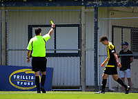 Action from the ISPS Handa Premiership Football match between Wellington Phoenix Reserves and Hamilton United at David Farrington Park in Wellington, New Zealand on Saturday, 16 December 2017. Photo: Dave Lintott / lintottphoto.co.nz