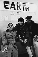 October 1970 --- Teenagers and members of the East Harlem Federation Youth Association at a youth center in New York in 1970. --- Image by © JP Laffont/Sygma/CORBIS