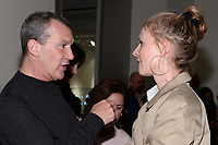 "NEW YORK CITY - APRIL 20: Antonio Banderas and Clemence Poesy attend the Sotheby's lunch and private preview of works by Picasso in conjunction with the National Geographic show ""Genius: Picasso"" at Sotheby's on April 20, 2018 in New York City. (Photo by Anthony Behar/National Geographic/PictureGroup)"
