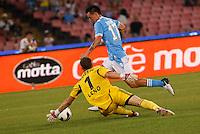 NAPOLI 29/07/2012 -ACQUA LETE CUP 2012 INCONTRO NAPOLI - BAYERN LEVERKUSEN.NELLA FOTO MAREK HAMSIK.FOTO CIRO DE LUCA