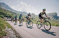 Mikel Nieve (ESP/Mitchelton-Scott) up the Comet de Roselend<br /> <br /> Stage 11: Albertville > La Rosière / Espace San Bernardo (108km)<br /> <br /> 105th Tour de France 2018<br /> ©kramon