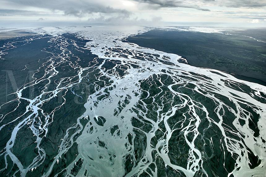 Braided River, Skeidararsandur, Iceland