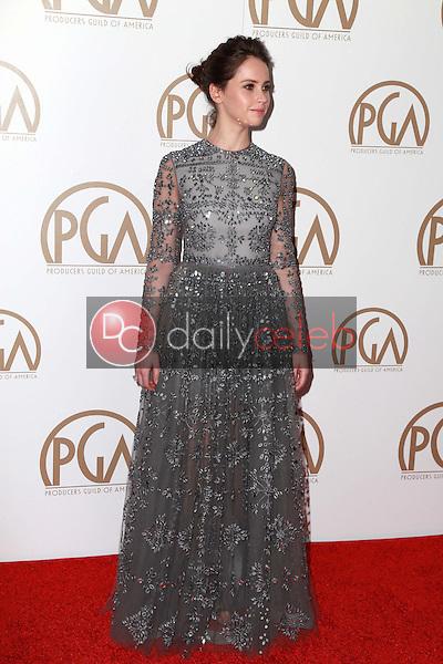 Felicity Jones<br /> at the Producers Guild of America Awards 2015, Century Plaza Hotel, Century City, CA 01-24-15<br /> David Edwards/DailyCeleb.com 818-249-4998