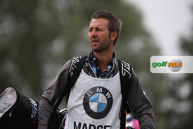 Caddie Thomas Soby during the Final Round of the BMW International Open 2014 from Golf Club Gut Lärchenhof, Pulheim, Köln, Germany. Picture:  David Lloyd / www.golffile.ie