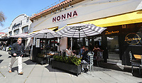 March 13, 2019. San Diego, CA. USA|  Nonna restaurant in Little Italy. | Photos by Jamie Scott Lytle. Copyright.