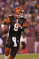 14 November 2004:  Cincinnati Bengals QB Carson Palmer.<br />
