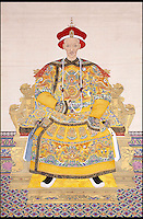 BNPS.co.uk (01202 558833)<br /> Pic: Dukes/BNPS<br /> <br /> ***Please use full byline***<br /> <br /> Pictured: The Emperor Daoguang, the Qing Dynasty Emperor<br /> <br /> A pair of enormous 200-year-old Chinese vases that were given to a<br /> church minister as thanks for saving a boy's life have come to light.<br /> <br /> They had been a gift to The Reverend Samuel Edward Valpy Filleul by a<br /> rich trader who he had rescued from drowing years before.<br /> <br /> The rare 5ft porcelain antiques were recently stumbled on in the<br /> hallway of a house - and are now tipped to fetch upwards of &pound;100,000.<br /> <br /> The Reverend Filleul had been fishing by a river in the late 1800s<br /> when he heard cries for help and rushed to the rescue of the boy.<br /> <br /> The pair became friends and the Reverend paid for the boy to go to school.<br /> <br /> Thanks to his education the boy grew up to become a successful trader,<br /> making his fortune in China.<br /> <br /> As thanks for saving his life, he shipped two giant vases to his mentor.<br /> <br /> The vases, intricately decorated with Chinese myths, are thought to<br /> come from the reign of Daoguang, the Qing Dynasty Emperor, who ruled<br /> over China from 1820 to 1850.
