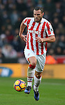 Erik Pieters of Stoke Cityduring the English Premier League match at the Bet 365 Stadium, Stoke on Trent. Picture date: December 17th, 2016. Pic Simon Bellis/Sportimage
