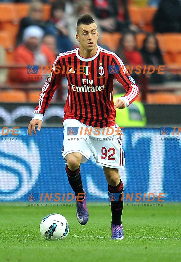 "Stephan EL SHAARAWY (Milan).Milano 11/03/2012 Stadio ""Giuseppe Meazza"".Serie A 2011/2012.Football Calcio Milan Vs Lecce.Foto Insidefoto Alessandro Sabattini."