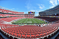 Santa Clara, CA - Friday June 03, 2016: Levi's Stadium prior to a Copa America Centenario Group A match between United States (USA) and Colombia (COL) at Levi's Stadium.