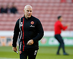 Jon Whitney manager of Walsall during the Carabao Cup First Round match at Bramall Lane Stadium, Sheffield. Picture date: August 9th 2017. Pic credit should read: Simon Bellis/Sportimage
