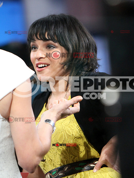 May 03, 2012: Norah Jones at Good Morning America studio to promote her new CD Little Broken Hearts. New York City. Credit: RW/MediaPunch Inc.