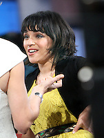 May 03, 2012: Norah Jones at Good Morning America studio to promote her new CD Little Broken Hearts. New York City. Credit: RW/MediaPunch Inc.