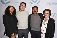 SAN RAFAEL, CA - OCTOBER 09: Taylor Russell, Trey Edward Shults, Kelvin Harrison Jr. and Zoe Elton arrive at the Centerpiece Film 'Waves' during the 42nd Mill Valley Film Festival at Christopher B. Smith Rafael Film Center on October 9, 2019 in San Rafael, California. Photo: imageSPACE for the Mill Valley Film Festival/MediaPunch