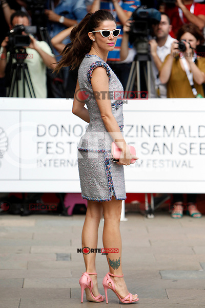 Colombian actress Juana Acosta arrives to Maria Cristina Hotel during the 62st San Sebastian Film Festival in San Sebastian, Spain. September 19, 2014. (ALTERPHOTOS/Caro Marin) /NortePhoto.com /NortePhoto.com