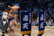 The July summer Grand Sumo Tournament held in Nagoya.