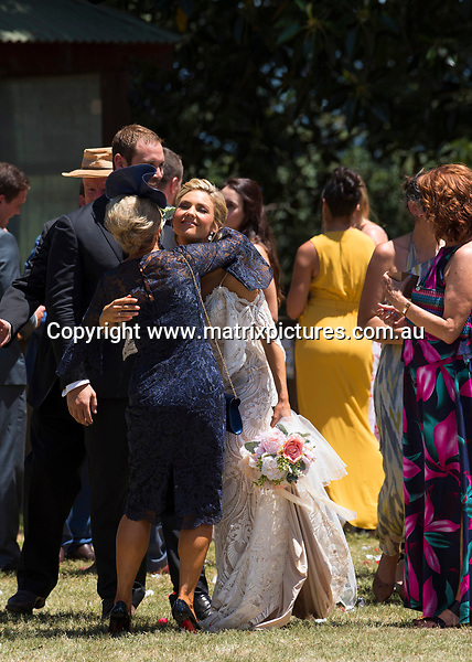 7 February, 2019 SYDNEY AUSTRALIA<br /> WWW.MATRIXPICTURES.COM.AU<br /> <br /> EXCLUSIVE PICTURES<br /> Home and Away filming Sam Frost and Jake Ryan Wedding at Windsor, NSW on 7 February, 2019<br /> <br /> <br /> *No internet without clearance*.<br /> <br /> MUST CALL PRIOR TO USE <br /> <br /> +61 2 9211-1088. <br /> <br /> Matrix Media Group.Note: All editorial images subject to the following: For editorial use only. Additional clearance required for commercial, wireless, internet or promotional use.Images may not be altered or modified. Matrix Media Group makes no representations or warranties regarding names, trademarks or logos appearing in the images.