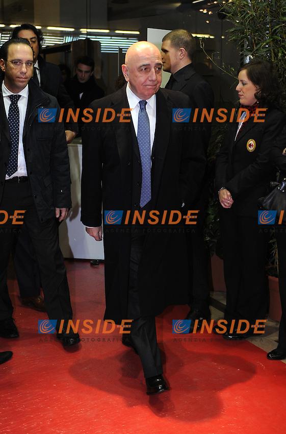 Adriano GALLIANI<br /> Milano, 13/03/2011 Teatro Manzoni<br /> 25&deg; anniversario di presidenza Berlusconi al Milan<br /> Campionato Italiano Serie A 2010/2011<br /> Foto Nicolo' Zangirolami Insidefoto