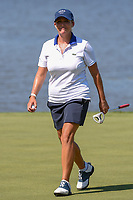 Cristie Kerr (USA) is all smiles after sinking her long birdie putt on 7 during round 2 of the 2018 KPMG Women's PGA Championship, Kemper Lakes Golf Club, at Kildeer, Illinois, USA. 6/29/2018.<br /> Picture: Golffile | Ken Murray<br /> <br /> All photo usage must carry mandatory copyright credit (© Golffile | Ken Murray)