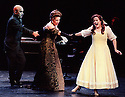 2000 - TALES OF HOFFMAN - Hoffman.pxxb -Antonio (Jan Grissom-far right) is being convinced by her mother and Dr. Miracle (Richard Bernstein) to sing even though it is certain to lead to her death in Opera Pacific's production of 'The Tales of Hoffman'.