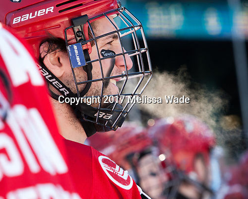 Nick Roberto (BU - 15) (Townies - dk why, hometown listed as Wakefield) - The Boston University Terriers defeated the University of Massachusetts Minutemen 5-3 on Sunday, January 8, 2017, at Fenway Park in Boston, Massachusetts.The Boston University Terriers defeated the University of Massachusetts Minutemen 5-3 on Sunday, January 8, 2017, at Fenway Park.