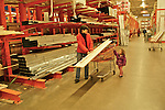 2-Year-Old Child Assists Mother at Lumber Yard, Home Improvement