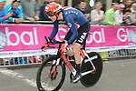 Chad Haga (USA) in action during the Men Elite Individual Time Trial of the UCI World Championships 2019 running 54km from Northallerton to Harrogate, England. 25th September 2019.<br /> Picture: Seamus Yore | Cyclefile<br /> <br /> All photos usage must carry mandatory copyright credit (© Cyclefile | Seamus Yore)