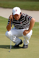 WINDEMERE, FL - OCTOBER 24:  Andrew Yun of the Stanford Cardinal during the Isleworth Collegiate on October 24, 2009 in Windemere, Florida.