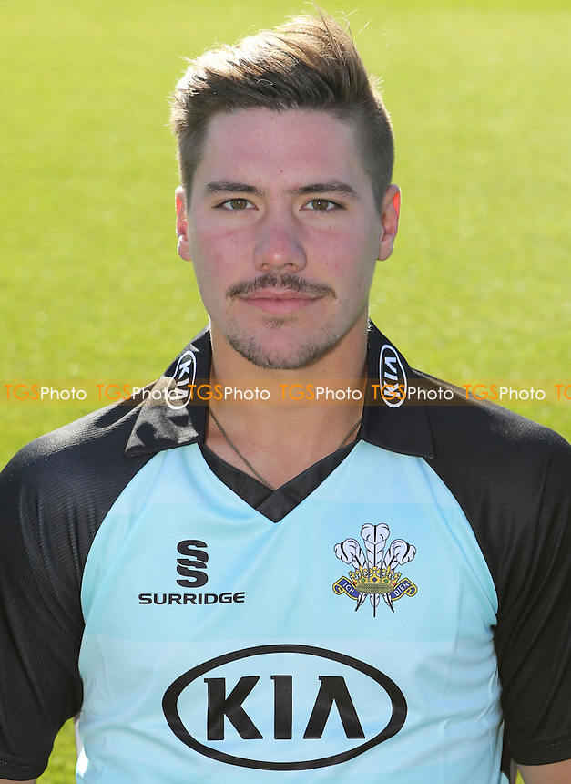 Rory Burns - Surrey CCC Press Day at The Kia Oval, Kennington - 24/03/14 - MANDATORY CREDIT: Rob Newell/TGSPHOTO - Self billing applies where appropriate - 0845 094 6026 - contact@tgsphoto.co.uk - NO UNPAID USE