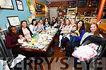 Celebrating National Breast Feeding Awareness Week in Cafe Siveen in Cahersiveen on Thursday last were l-r; Scovia Karungi, Kesey Zawlocki, Hazel McCoy, Martina & Conor Fitzgerald, Paula Luck, Eimear Ní Mhuchhú & Ronan, Aine O;Shea & Shinead, Elaine Sharkey & Cian, Mairead & Grace O'Driscoll, Rhiannon Evans & Billy, Andrea & Colin Caffrey, Aideen O'Sullivan & Allie.